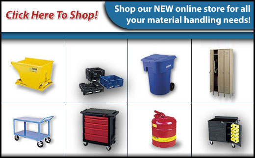 Click here to shop our NEW online store for all your material handling needs! - Babush Material Handling